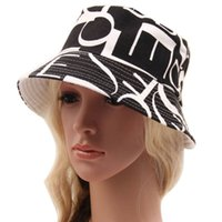 Wholesale Best Deal New Summer Bohemian Style Printing Pattern Women s Sun Hat Bucket Hat pc