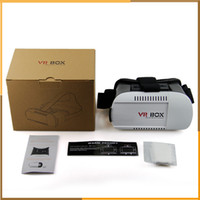 Wholesale VR BOX Version Head Mount Plastic Virtual Reality Glasses D Game Movie new vision for inch inch Smart Phone