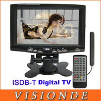 Wholesale Digital Televisions ISDB T For Japan South America Home Audio Video Equipments inch TFT Portable LCD TV Digital TV