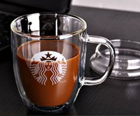 Wholesale High performance cheap Heat resistant high borosilicate clear fruit juice milk coffee beer drinkware double layer large capacity with handl