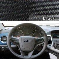 aveo steering wheel - steering wheel cover sticker decoration carbon fiber design for Chevrolet Cruze Aveo