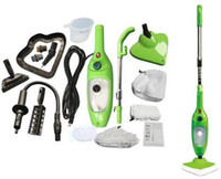 Wholesale 5 in Multi function Steam Mop Household Cleaning Tools Machine Cleaner With US UK EU Plug Logo Packing