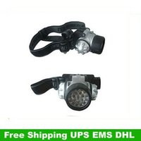 Wholesale High Quality LED WATERPROOF HEAD LAMP LIGHT TORCH HEADLIGHT UPS EMS DHL HKPAM CPAM