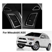auto decorative accessories - Car decorative Chrom air vent cover trim for Mitsubishi ASX auto accessories