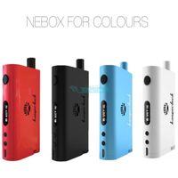 metal box - Kanger Nebox Starter Kit kangertech Nebox Kit W TC Box Mod ml Mini RBA Plus with Authenticity Code Nebox Vs Subox Mini
