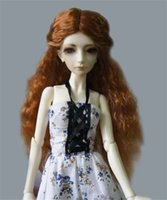 doll accessories - The Princess Wave Wigs for BJD Dolls Fashionable Synthetic Mohair Long Doll Hair High Quality Doll Accessories Hot Sale