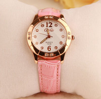 Wholesale Fashion Student Leather Luxury Quartz watches High Quality Bohemia Style Wristwatch Watches for Women Girls