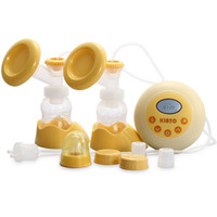 Wholesale 100 v Double Electric Breast Pump Quiet Expressions Adjustable Suction Levels For Postpartum Moms