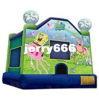 Wholesale castle jumping mini jumping castle