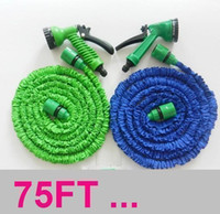 Cheap new 20pcs lots High quality 75FT water hose fast connector Garden hose+ SparyGun Wholesalenew top 1113#13