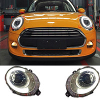 Wholesale Headlights New DRL Head Light Car Styling For BMW MINI Cooper Bifocal lens With Turn Signal High Quality