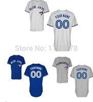 custom baseball jersey - Factory Outlet Customized Toronto Blue Jays Jerseys Custom Customize Baseball Jersey Coolbase Stitched Personalized Blue Jays jerseys
