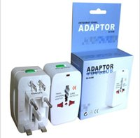 Cheap Universal World Wide Travel Charger Adapter Plug All in 1 Adapter for Cellphones Power Band Camera Ipad Tablet PC Portable Travel Charger