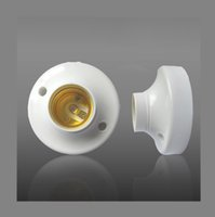 Wholesale Round White Color AC85 V Use ABS Material E27 Lamp Base Holder mm x mm