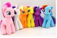 7.8in (19cm) Mes jouets en peluche Little Pony 6 modèles U Pick pour Baby Girl Cartoon super qualité en peluche Poupées Peluches Peluches