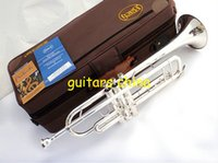 Wholesale 2015 New Arrival VISAD Senior French brand Silveriness bach tr gs Small musical instrument professional trumpet
