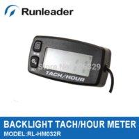 Wholesale Resettable Digital Motorcycle Tachometer Moto Monitor ATV Motorcycle Autocross M44813 motorcycle enduro atv jacket