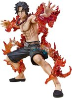 baby ace - New Japanese anime one piece Portgas D Ace Fire punch pvc figure Collectibles baby toy gifts action figure brinquedos