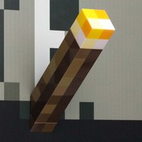 Wholesale NEW ARRIVE Minecraft Light Up Wall Torch Minecraft Toy Gift Home Children Party Decoration B001
