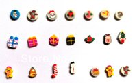 Wholesale hot assorted christmas floating charms Christmas gift fit floating locket charms floating locket plates