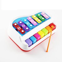 Wholesale Little Piano Baby Early Childhood Educational Toys Musical Instruments Musical Notes Children Percussion Instruments Toys