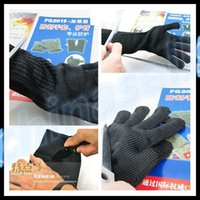 acid resistant gloves - new Lengthened grade anti cut gloves cut resistant anti knife gloves arm armband special wear resistant anti acid microwave static gloves