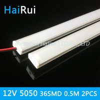 aluminium flat bars - cm cabinets light expert DC12V SMD LED Hard Rigid LED Strip Bar Light U aluminium flat cover