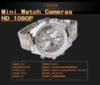Wholesale DHL New Mini Watch Cameras WristWatch C5 HD1080P Spy Camera watches Night Vision Audio Video Voice Recorder watches Quartz movement G