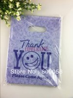 plastic bag carrier - 50pcs quot Thank You quot Printed Recyclable Useful Plastic Shopping Hand Packing Bags x20m Boutique Gift Carrier Jewelry Pouches