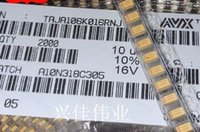 avx capacitor - SMD tantalum capacitors v10UF UF V A3216 A volume type AVX yellow a package