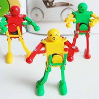 Wholesale New Arrival freeshipping kids wind up toys educational toys dancing robots rock roll robots unique toys