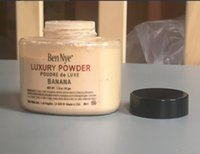 Wholesale Ben Nye Luxury Powder g New Natural Face Loose Powder Waterproof Nutritious Banana Brighten Long lasting