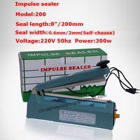 Wholesale all matel quot mm long hand Impulse Sealer quot mm wide sealing Heat Sealing Machine Heat Sealing Plastic Bag Closer Sealer