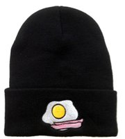 bacon - Egg Bacon Beanie Many Quality brand hip hop street men beanies hats hiphop winter hats football basketball knitted sport caps snapbacks