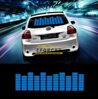 beat lamp - Hot Sound Music Beat Activated Car Stickers Equalizer Glow Blue LED Light Audio Voice Rhythm Lamp