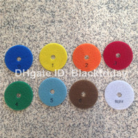 Wholesale Diamond Dry Polishing Pad mm B Grade Marble and Granite Tools Fast Gloss Step Diamond Tools Sander Disc Factory Direct
