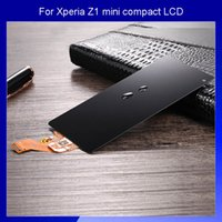 Wholesale Original LCD For Sony Xperia Z1 mini compact Screen Display and Touch Screen Digitizer assembly black
