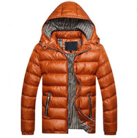 Wholesale Fall Winter Jacket Men Warm Coat Sportswear Outdoor Parka Chaquetas Plumas Hombre Hooded Stand Collar Thick Duck Down Jacket Men