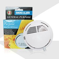 Wholesale New Fire Smoke Detector High Sensitive Photoelectric Wireless Alarm Sensor