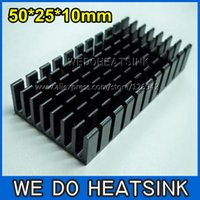 aluminium heatsinks - pcs50x25x10mm Aluminium Radiator Heat Sink Heatsinks Cooler