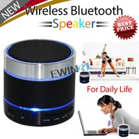 Wholesale Bluetooth Speaker wireless ipod iPhone iPad MP3 LED Dancing Light blue green New and high quality