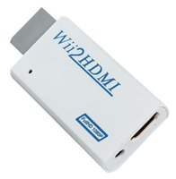 Wholesale Mini Hot Wii to HDMI Audio Full HD P P Converter Adapter Wii2HDMI N1 MM Audio Wii to HDMI Wii2HDMI P P VIDEO CONVERTER