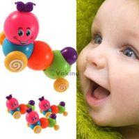 Wholesale V1NF Cute Carpenterworm Cutworm Clockwork Spring Bug Children Wind up Toys