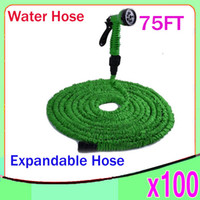 Wholesale DHL New Expandable Flexible Water Garden Hose flexible water pipe Wash car FT Simple Packaging ZY SG