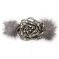 angora clothing - GUST Brand Women Hair Jewelry Hair Pin Barrette Hair Claws Beaded angora Fashion Party Elegant Girl Clothing BA002