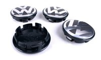 Wholesale 65mm for VW Volkswagen Wheel Center Caps For Volkswagen Logo badge emblems EOS Golf Jetta Mk5 Passat B6 VW B7601171 wheel cover