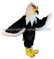 accord costumes - Highly customized according to body size High quality EVA Material Helmet Black Hawk Mascot Costumes walking cartoon Apparel