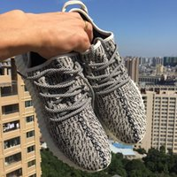 real football boots - Genuine Yeezy Boost Gray Moonrock Pirate Black Kanye West Sneakers for Men Women With Receipts Real Yeezy Boost Shoes