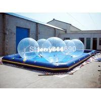 Wholesale inflatable pool wate plastic water pool