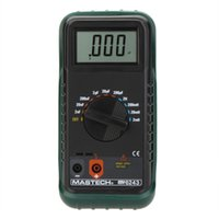 Wholesale MASTECH MY6243 Portable Digital LC Meter Capacitance Meter Capacitor Inductance Meter Tester